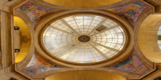 Things are looking up for historic dome murals