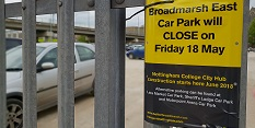 Broadmarsh East Car Park to close to make way for City Hub