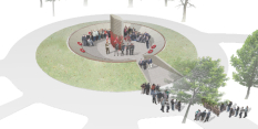 Proposed First World War memorial design revealed