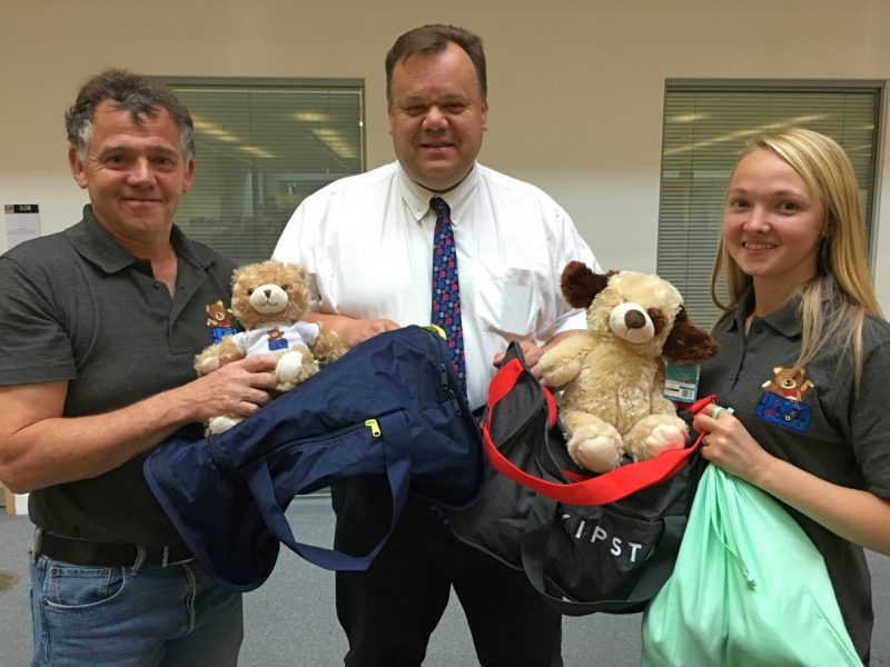 Charity delivers 'My Bags' for children coming into foster care