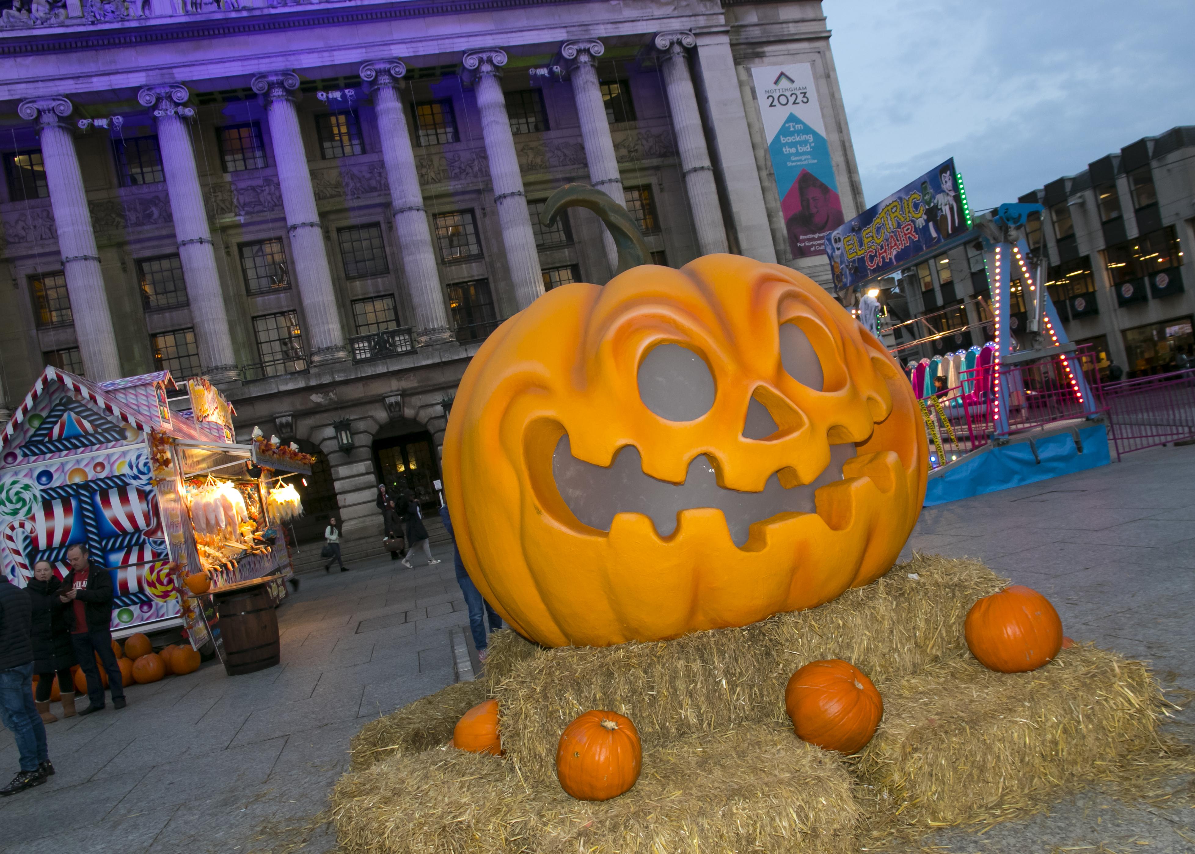 Pumpkin in Old Market Scare