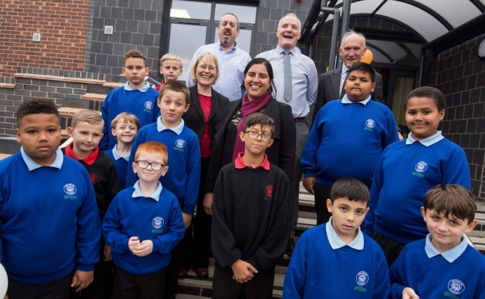 Official opening for £4m special school expansion
