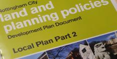 Spotlight on blueprint for Nottingham's future