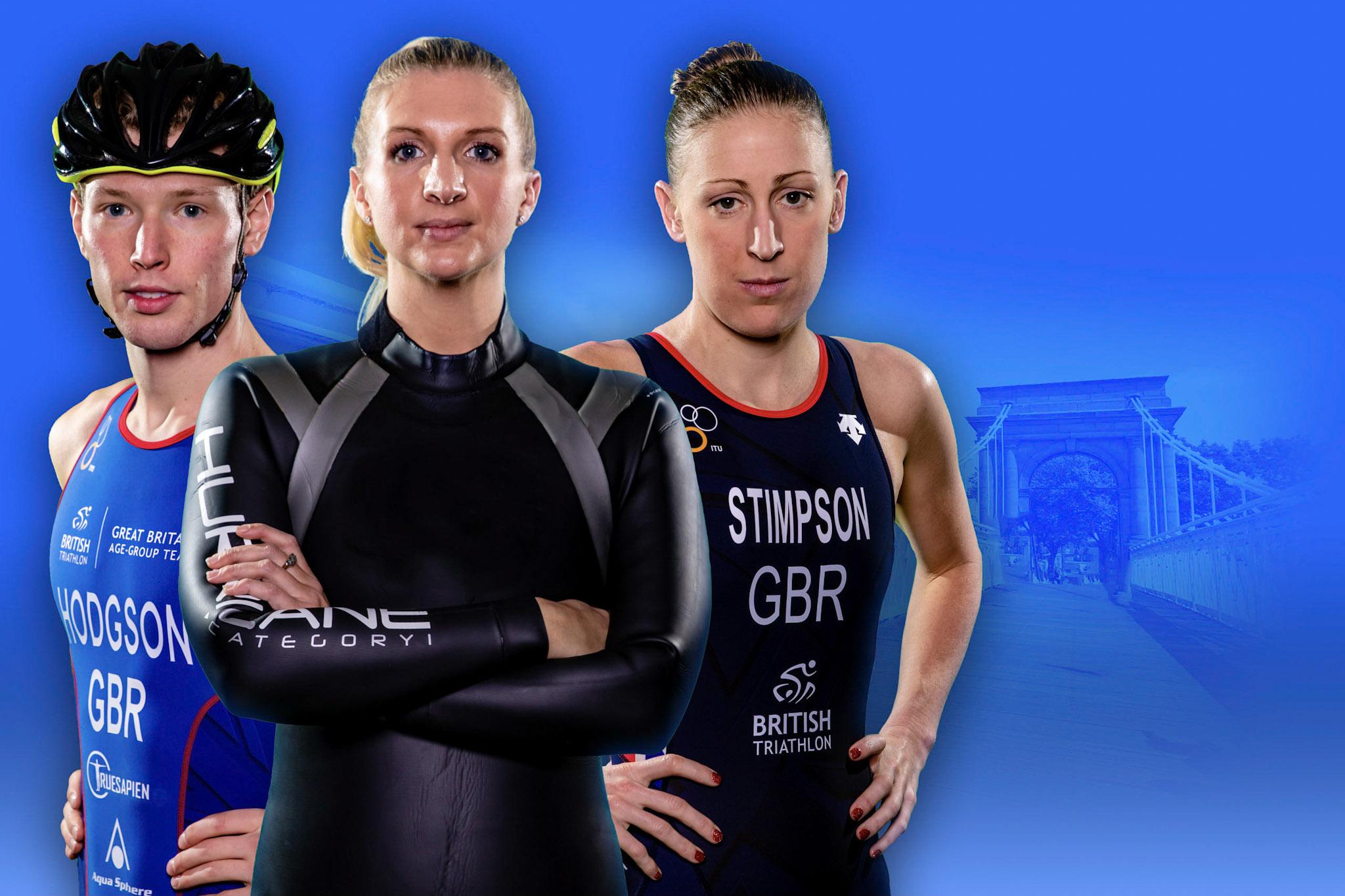 Three Triathletes