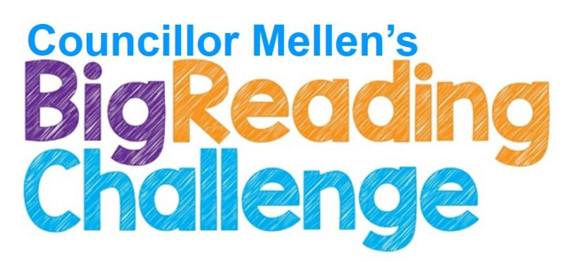 Councillor David Mellen to read to 5,000 children in 50 days