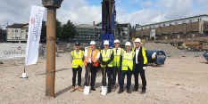 Broadmarsh Car Park development marks significant milestone