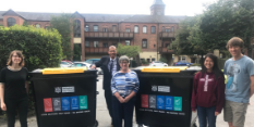 Bins replace bags for greener recycling in Nottingham flats
