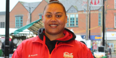 Bulwell Market supports local athlete's bid for Team GB spot at 2020 Olympics