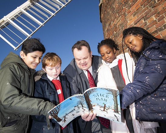 Imagination Library delivers 250,000 books to children in Nottingham