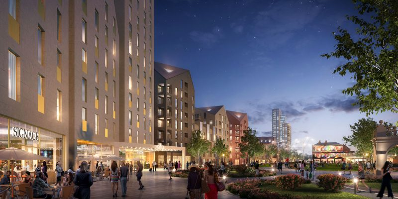 Largest development in city gets underway as work starts to clear Island Quarter site