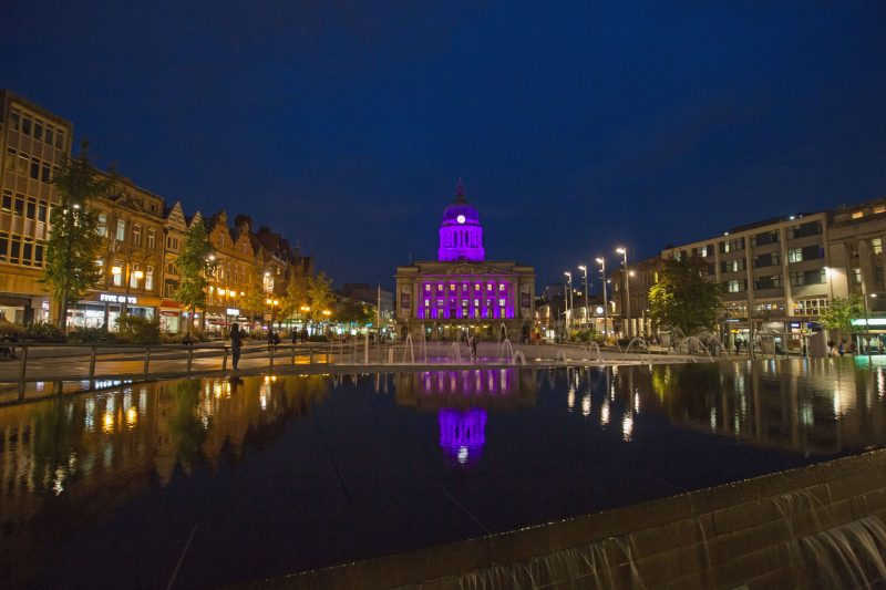 Nottingham awarded Purple Flag status once again