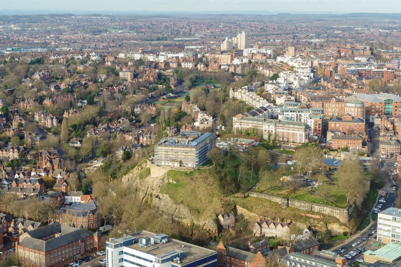 Good news in difficult times is a boost for Nottingham
