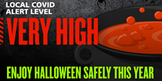 Be Spooky & Sparkly BUT SAFE this Halloween & Bonfire Night!