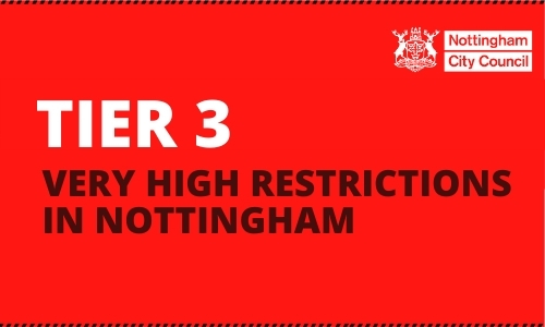 Nottingham to stay in Tier 3 restrictions for Covid-19