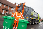 Nottingham world first: Electric bin lorries take to the streets