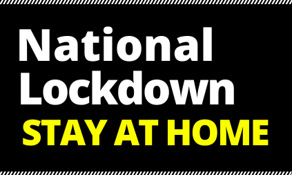 National Lockdown announced with immediate effect