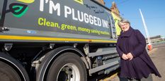 Council reveals new names for 'world-first' electric bin lorries