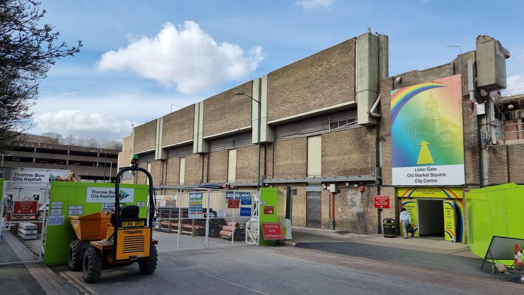 Broadmarsh Centre from Collin Street