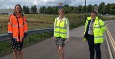 New road at the Nottingham Enterprise Zone set to open, paving way for new jobs and housing