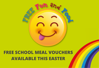 Free School Meal vouchers available this Easter
