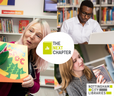 Help write 'The Next Chapter' for Nottingham City Libraries