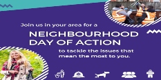Local residents' top issues to be tackled in 20 Days of Action