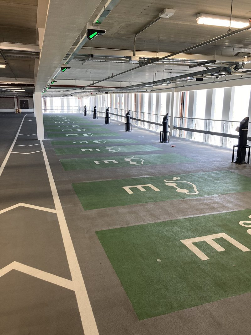 New Broad Marsh Car Park set to be an electric record-breaker