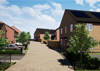 Construction starts on over 100 new affordable homes in Nottingham