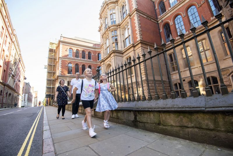 Look up for Nottingham Adventure Trail this summer