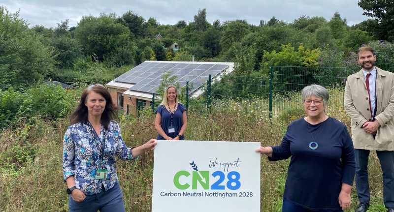 Nottingham's renewed pledge to take local action against climate emergency