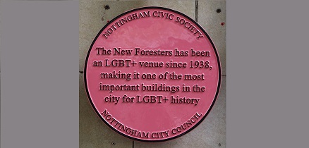 Nottingham celebrates the city's LGBT+ history with plaque unveiling