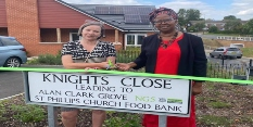 New homes dedicated to much loved local councillor