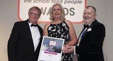 'Green' menu lands national award for school catering service